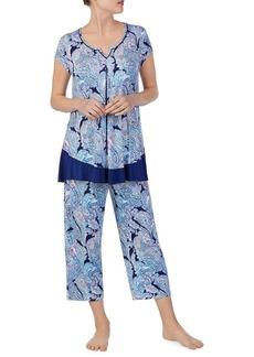 Ellen Tracy Paisley Pajama Top