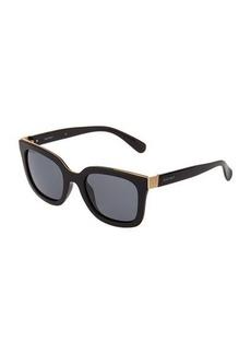Ellen Tracy Plastic Square Sunglasses