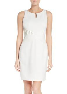 Ellen Tracy Ponte Sheath Dress