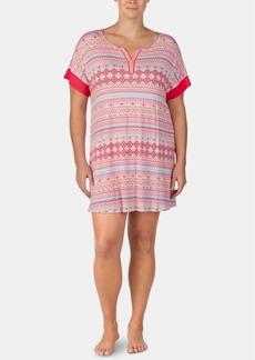Ellen Tracy Printed Tunic Sleepshirt