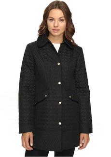 Ellen Tracy Quilted Barn Coat