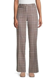 Ellen Tracy Retro Plaid Trousers