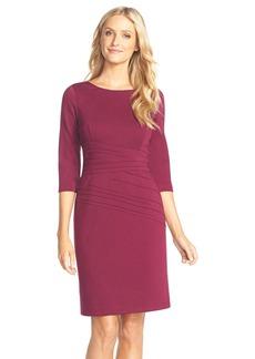 Ellen Tracy Seamed PonteSheath Dress (Regular & Petite)