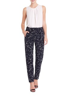 ELLEN TRACY Tailored Printed Pants