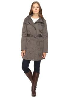 Ellen Tracy Techno Trench Jacket