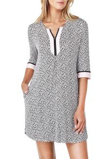 ELLEN TRACY Three-Quarter Sleeve Pullover Tunic
