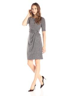 Ellen Tracy Women's Sweater Dress Dress -taupe