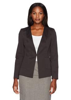 ELLEN TRACY Women's Angle Pocket Blazer el/Black