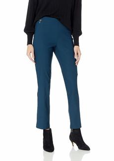 ELLEN TRACY Women's Back Slit Slim Pant  S