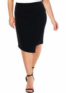ELLEN TRACY Women's Bow Front Skirt el/Black
