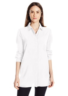 Ellen Tracy Women's Boyfriend Shirt  M