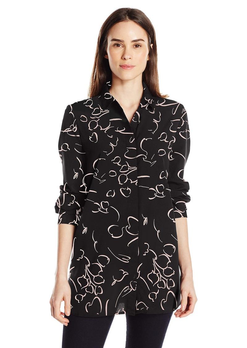 Ellen Tracy Women's Boyfriend Shirt  S