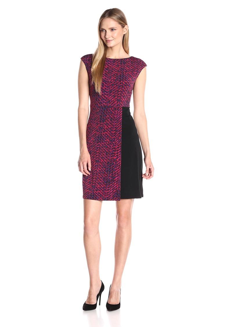 Ellen Tracy Women's Cap Sleeve Knit Dress