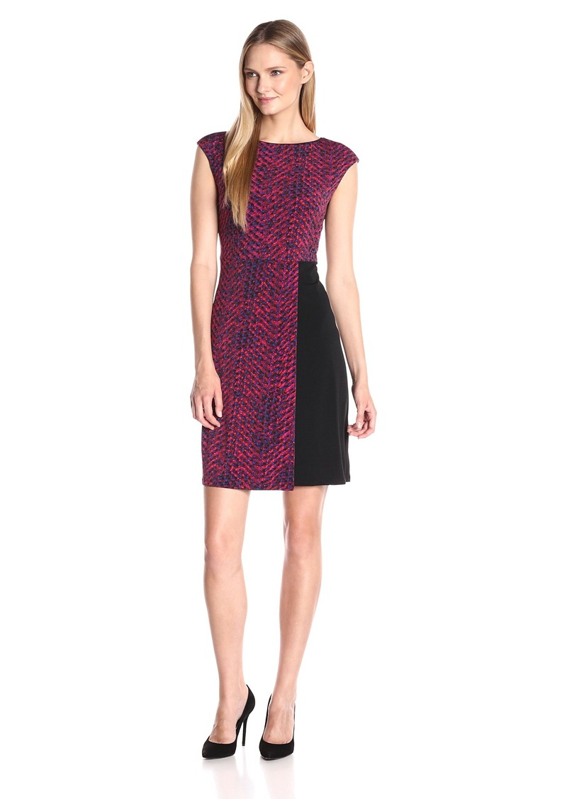 Ellen Tracy Women's Cap Sleeve Knit Dress