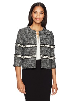ELLEN TRACY Women's Cropped Jacket