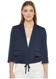 ELLEN TRACY Women's Drawstring Jacket