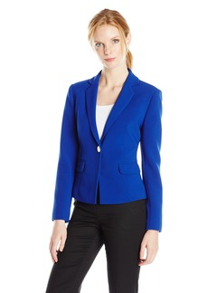 Ellen Tracy Women's Et Single Button Jacket