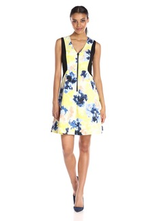 Ellen Tracy Women's Fit and Flare Dress
