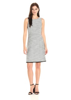 Ellen Tracy Women's Fitted a-Line Dress