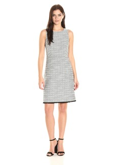 Ellen Tracy Women's Fitted a-Line Dress