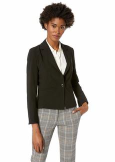 ELLEN TRACY Women's Fitted Blazer el/Black