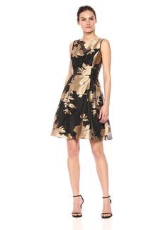Ellen Tracy Women's Floral Burnout Dress