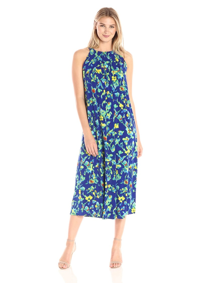 ELLEN TRACY Women's Halter Maxi Dress  XS