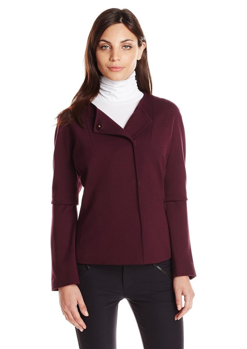 fae1d9072b83 Ellen Tracy Ellen Tracy Women's High Density Knit Peplum Jacket ...