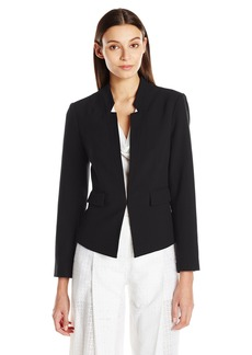 ELLEN TRACY Women's Inverted Rever Jacket