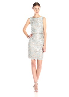 Ellen Tracy Women's Lace Sheath Dress
