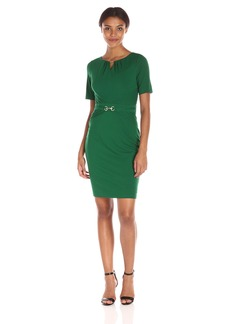 Ellen Tracy Women's Luxe Jersey Dress