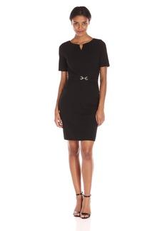 Ellen Tracy Women's Luxe Jersey Dress