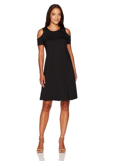 Ellen Tracy Women's Open Shoulder Dress  M