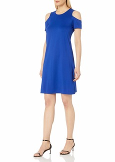 ELLEN TRACY Women's Open Shoulder Dress  S