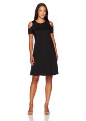 ELLEN TRACY Women's Open Shoulder Dress  S