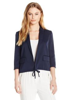 ELLEN TRACY Women's Petite Size Drawstring Jacket  14P