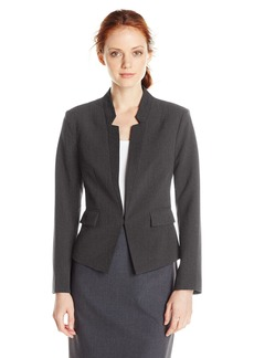 Ellen Tracy Women's Petite Size Inverted Rever Jacket  12