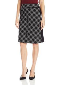 Ellen Tracy Women's Piped a-Line Skirt