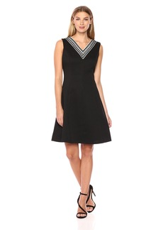 Ellen Tracy Women's Pique Dress