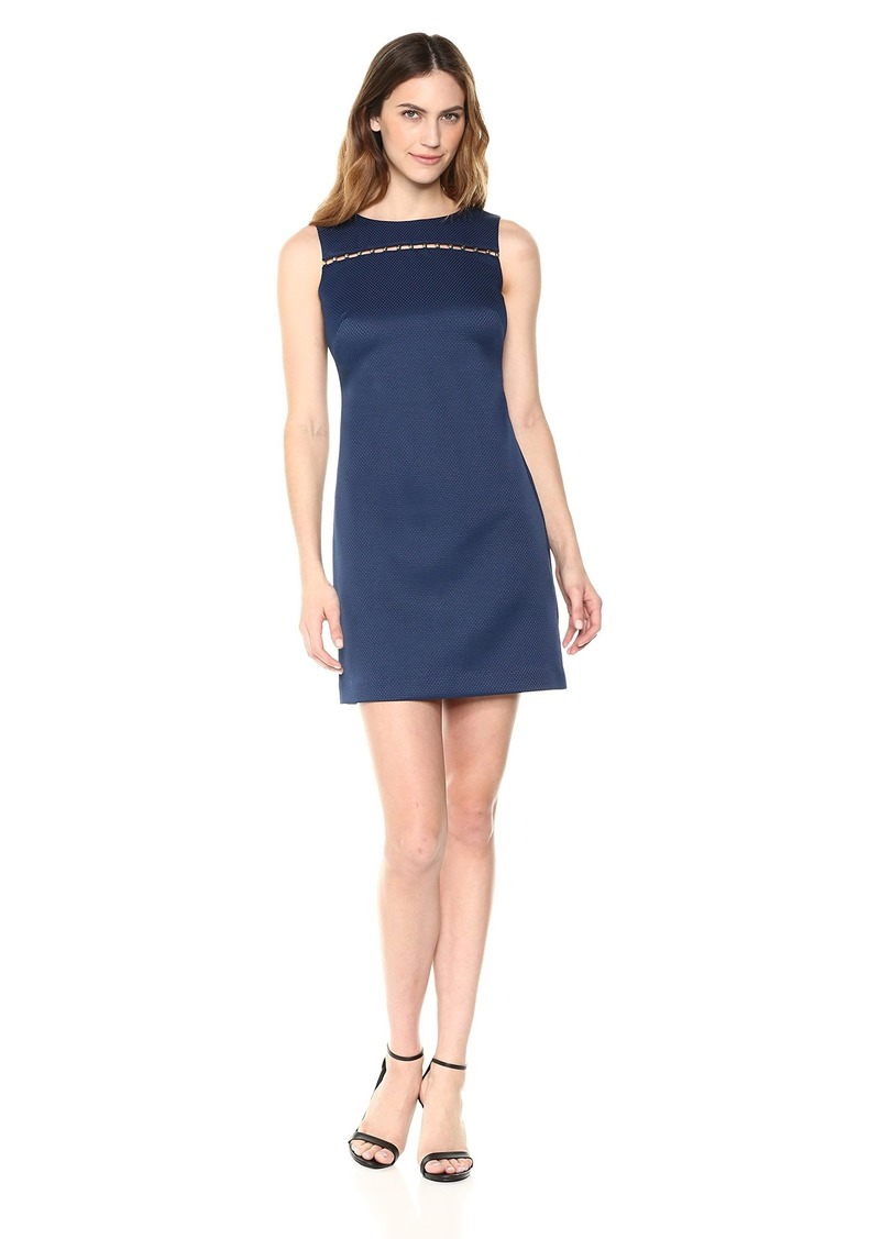 ELLEN TRACY Women's  Pique Dress