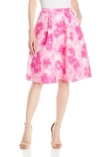Ellen Tracy Women's Pleated Skirt