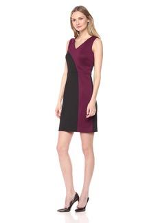 Ellen Tracy Women's Scuba Dress