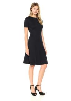 Ellen Tracy Women's Seamed Knit Dress  S