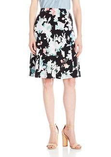 ELLEN TRACY Women's Seamed Knit Skirt  XS