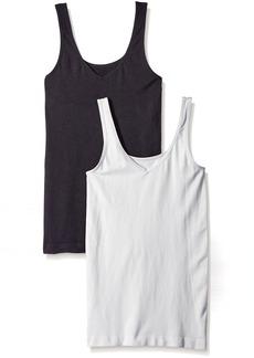 Ellen Tracy Women's Seamless Reversible 2 Pack Camisole