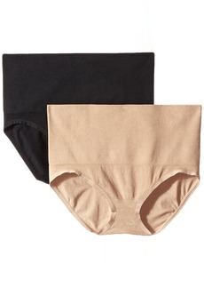 Ellen Tracy Women's Seamless Shape Control Brief Panty