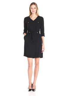 Ellen Tracy Women's Shirt Dress