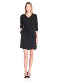Ellen Tracy Women's Shirt Dress