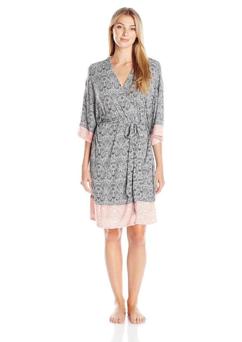 ELLEN TRACY Women's Short Kimono Knit Wrap