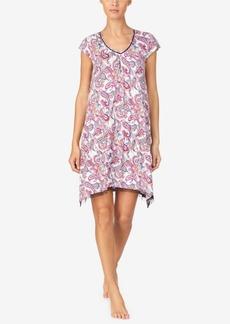 Ellen Tracy Women's Short Knit Nightgown